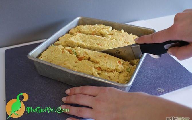 Công thức và cách chế tạo bánh mì cho vẹt