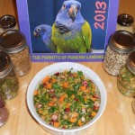 Toàn Tập về chế độ dinh dưỡng lành mạnh hằng ngày của loài vẹt